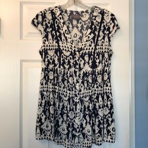 Anthropologie top - size S